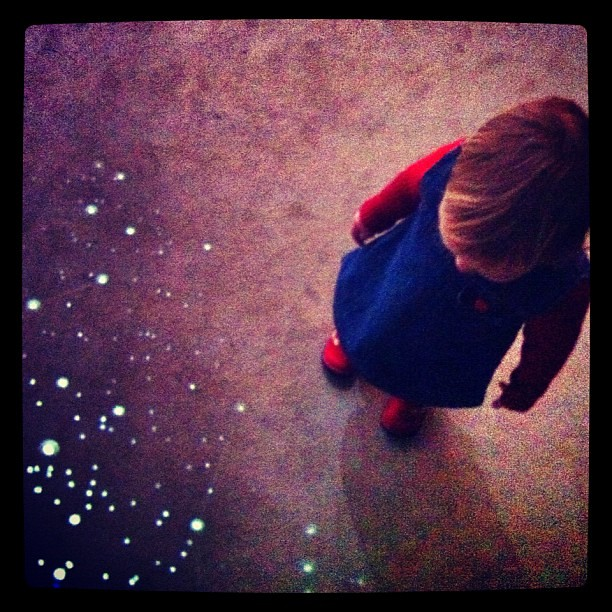 Star-walking.