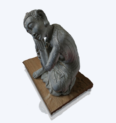 Silver Buddha  by Nick Morrey