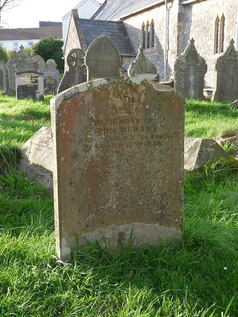 11726 - Glanrhyd Shipwreck Grave, Port Eynon