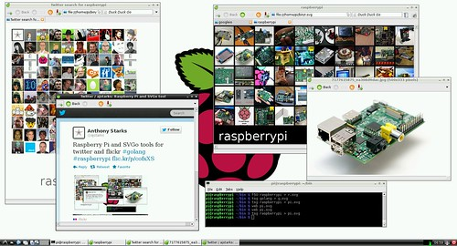 Raspberry Pi and SVGo tools by ajstarks