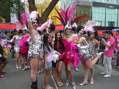 sports(0.0), festival(1.0), carnival(1.0), event(1.0), samba(1.0), parade(1.0), performing arts(1.0), dance(1.0),