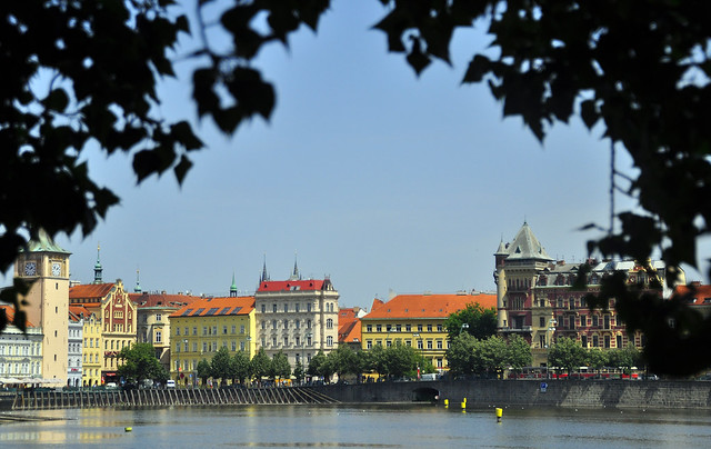A Perfect Summers Day in Prague