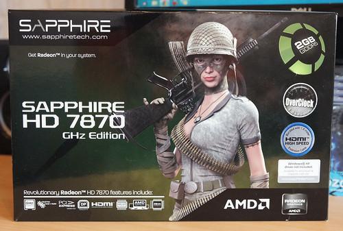 Sapphire Radeon HD 7870 2GB OC   tylusis spartintuvas