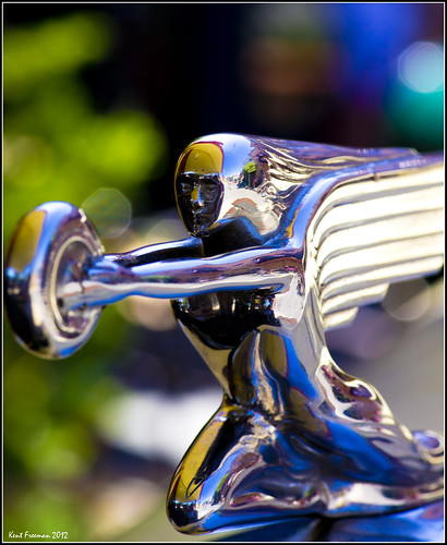Flying Lady Packard Hood Ornament