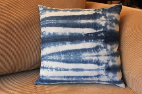 shibori cushion - 40 x 40 cm