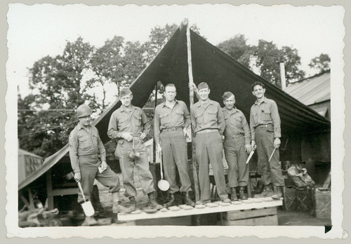 Six men in uniform