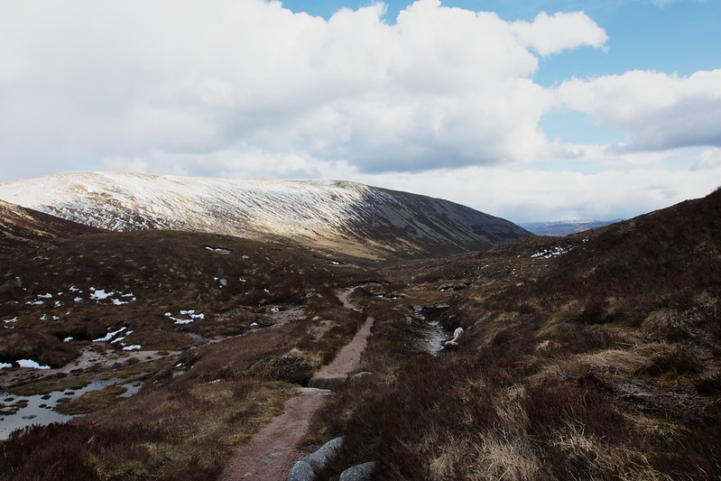 The track to Glen Derry