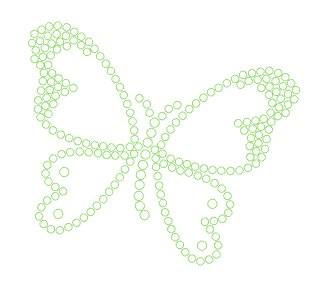 Schmetterling - Strassvorlage