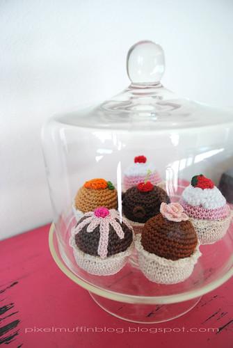 amigurumi muffins
