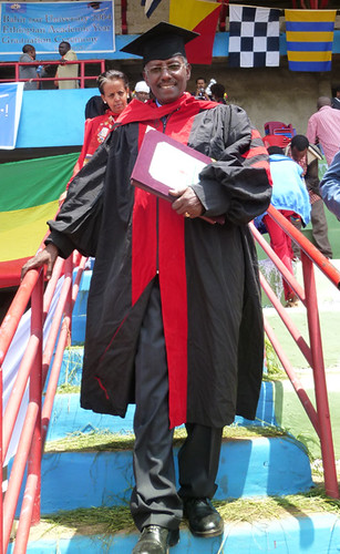 Azage Tegegne of IPMS awarded an honorary Doctorate of Science degree