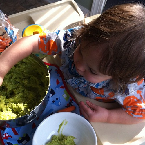 No! I want the big bowl of guacamole.