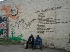 2012.07.13 Wall graffiti Nairobi on Kenyas leaders (3) - KE