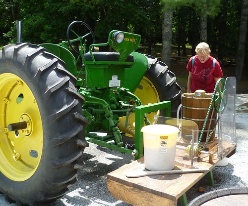tractor ice cream