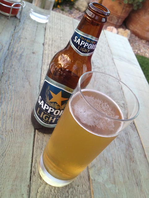 Sapporo light beer - Jiao