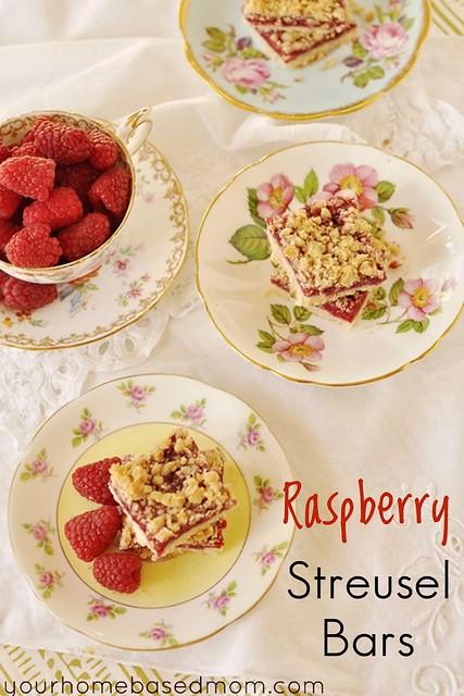 Raspberry Streusel Bar