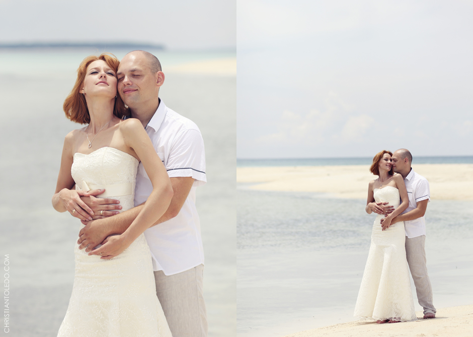 Cebu Wedding Photographer, Bantayan Island Post-wedding photos