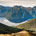 Kepler Track in Fiordland National Park, New Zealand