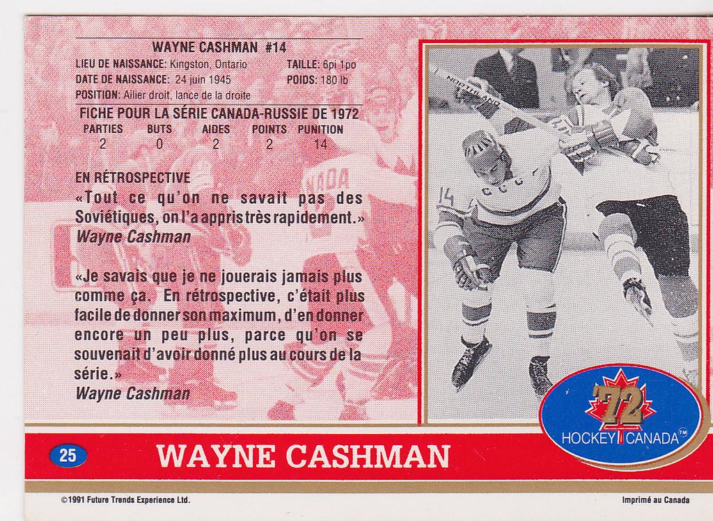 Canada cashman back