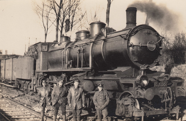 Steam Train on the Somme 1918   Great War Photos