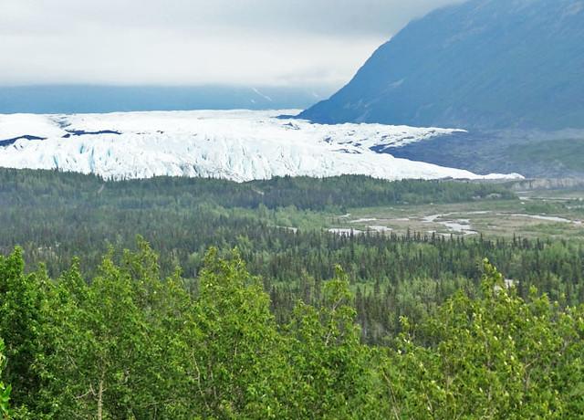 Matanuska Glacier from a distance