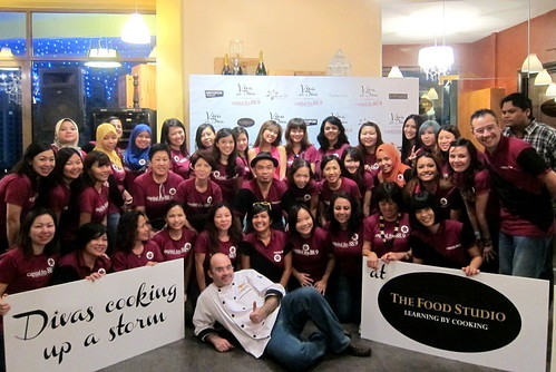 CapitalFM Diva's Day Out - 14 Group Photo at The Food Studio