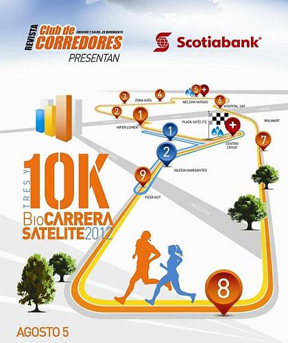 Biocarrera Satelite 10K 2012