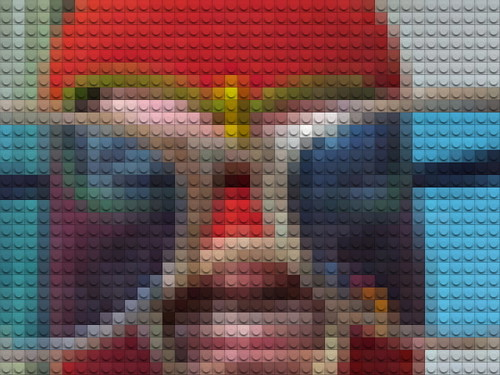 lego people by William Keckler