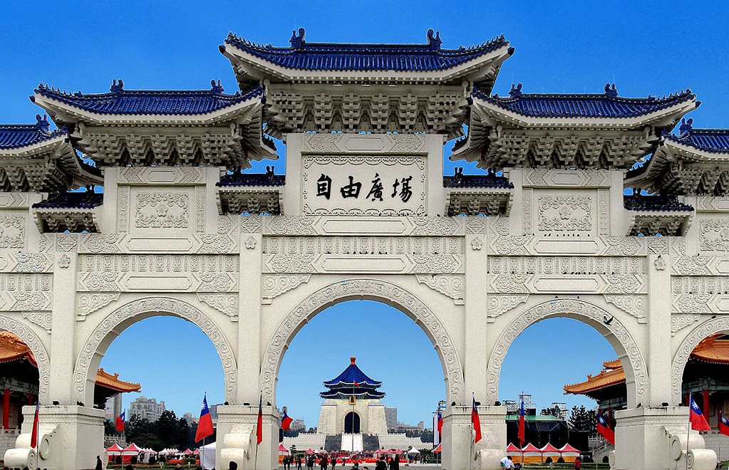 Taiwan-National Chiang Kai-shek Memorial Hall-中正紀念堂