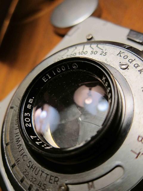 Kodak Ektar 203mm f/7.7 Coated Lens