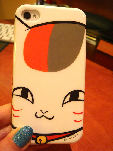 Nyanko sensei iPhone4 case.