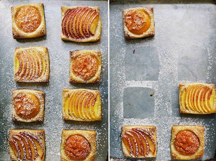 Simple Stone Fruit Tartlets