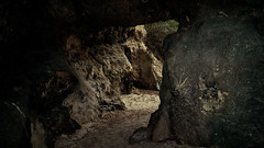 pit cave(0.0), caving(0.0), formation(1.0), geology(1.0), lava tube(1.0), cave(1.0), darkness(1.0), rock(1.0),
