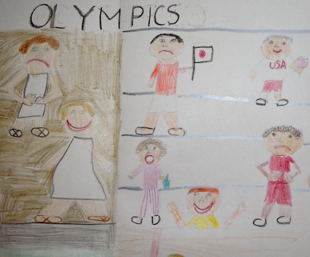 olympics crowd