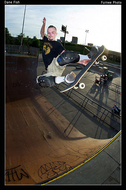 Dane Warner On Toast Skateboards