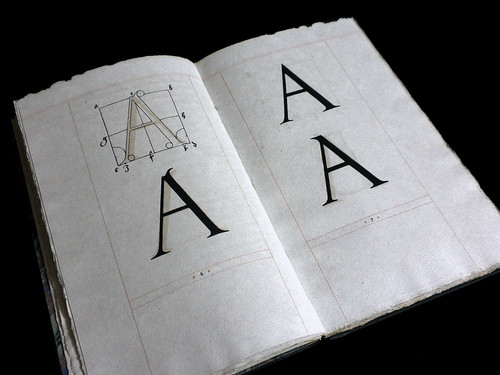 The Construction of Roman Letters by Albrecht Dürer