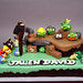 Angry Bird 9th Birthday Cake