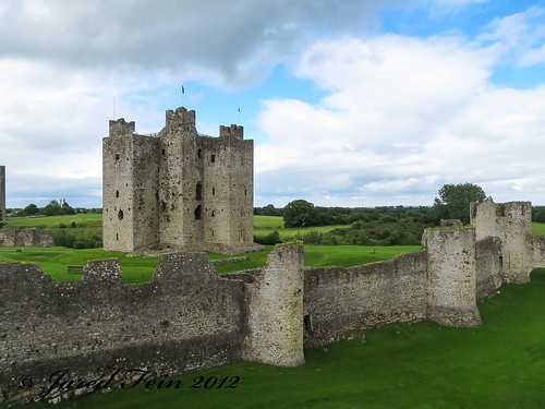 Trim Castle - Central Keep and Outer Fortifications