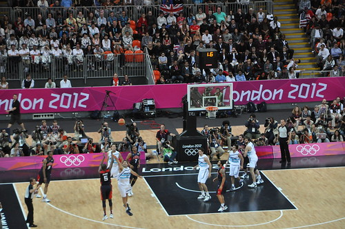 Baloncesto España - USA vs Argentina - Londres 2012
