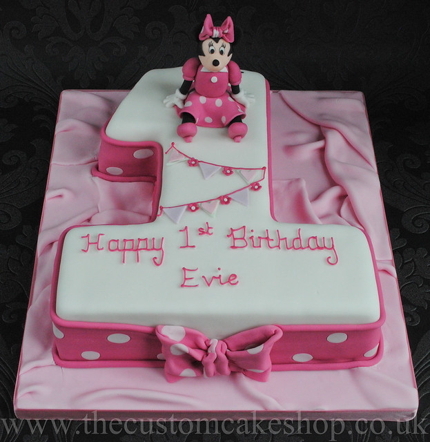 1st birthday cake number 1