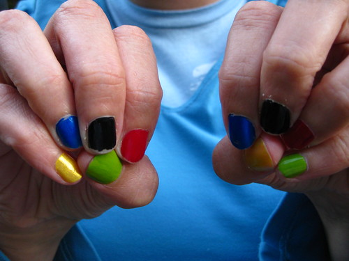 Ten Olympic Nails