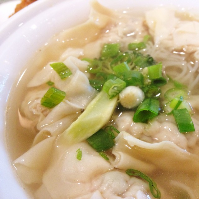 Wonton Noodle Soup @ Vina Vietnamese | Flickr - Photo Sharing!
