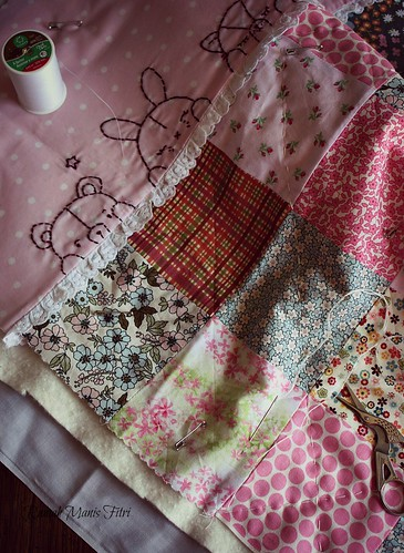 Hand Quilting Stitches by Fitri D. // Rumah Manis