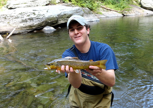 Low Water Nymphing on the Gunpowder River
