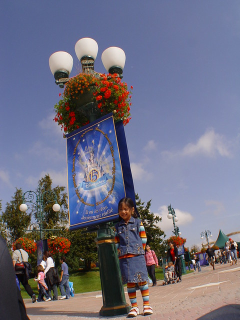 lamp, disneyland resort paris