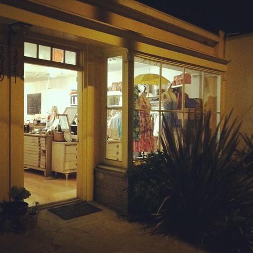 Goodnight cute little shop. #craftcabinet