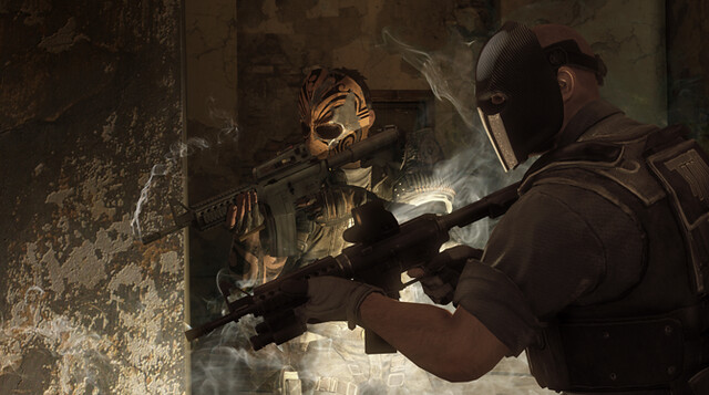 Army of Two : The Devil's Cartel - Coopération