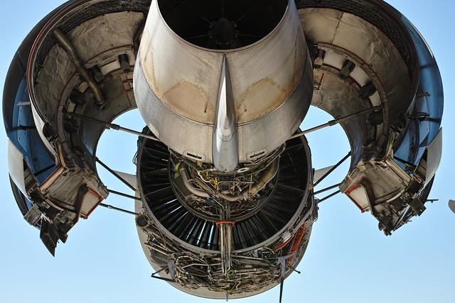 【20120819_横田基地日米友好祭(Friendship Festival)】18_C-17 Globemaster III's engine