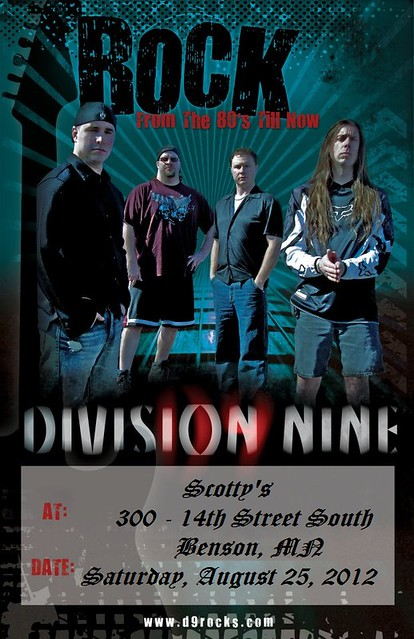 08/25/12 Division Nine @ Scotty's, Benson, MN