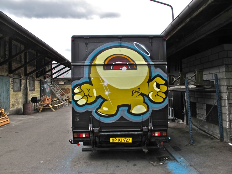 Copenhagen graffiti truck