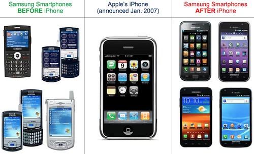 Samsung kopijavo Apple ir turės sumokėti $1 milijardą